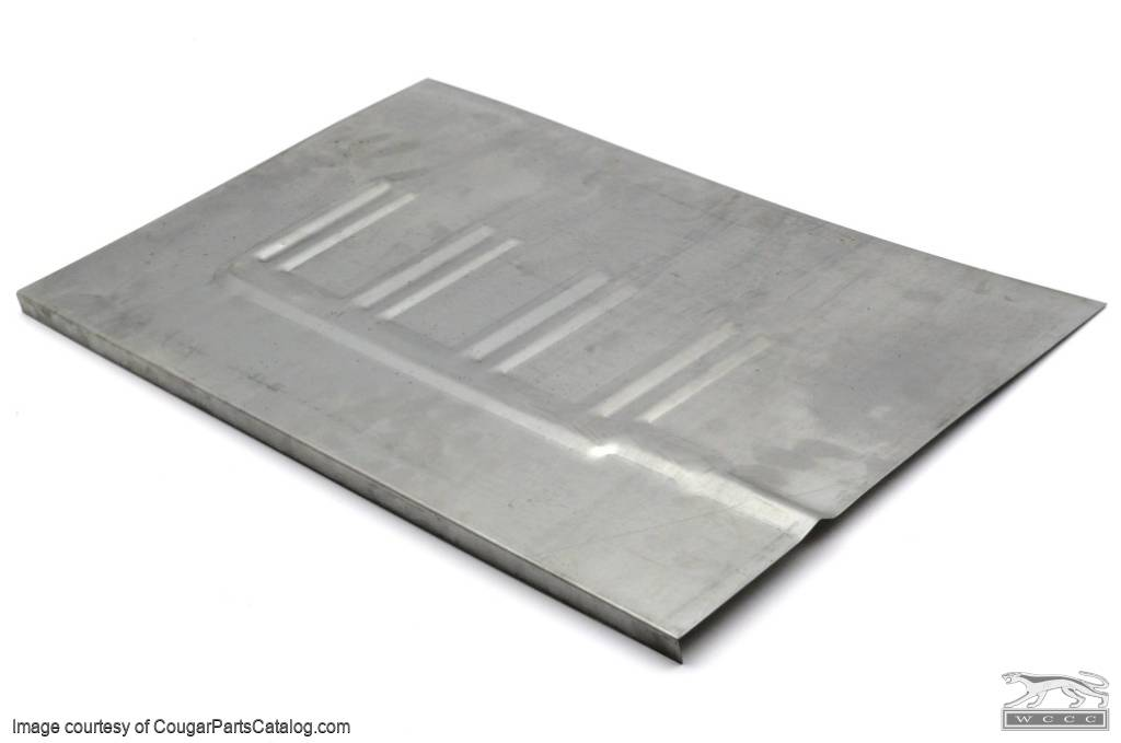 Patch panel floor pan coupe passenger side repro for 1970 mustang floor pans