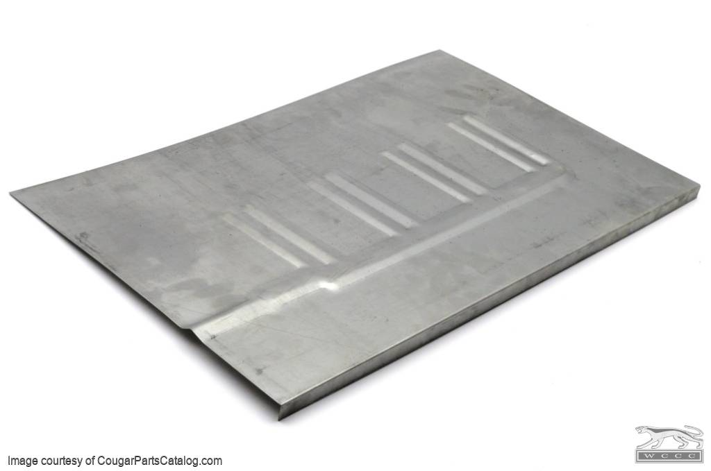 Patch panel floor pan coupe driver side repro 1969 1970 mercury cougar 1969 1970 for 1967 mustang floor pan