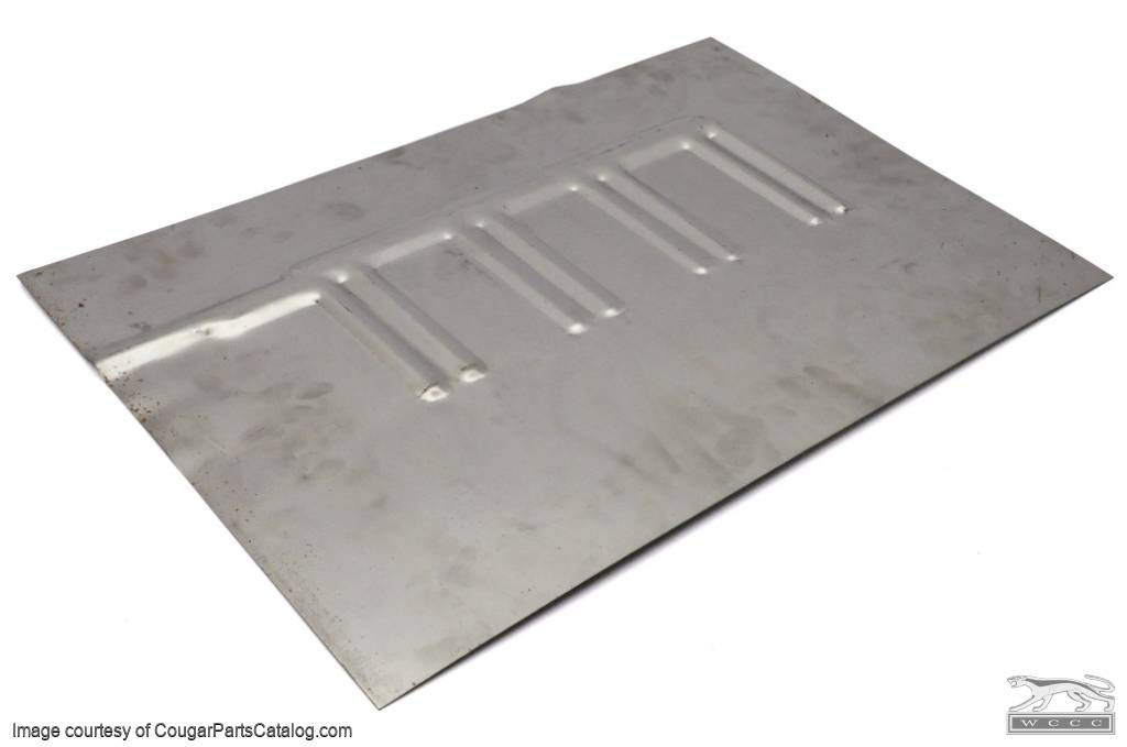 Floor pan patch convertible passenger side repro for 1967 mustang floor pan