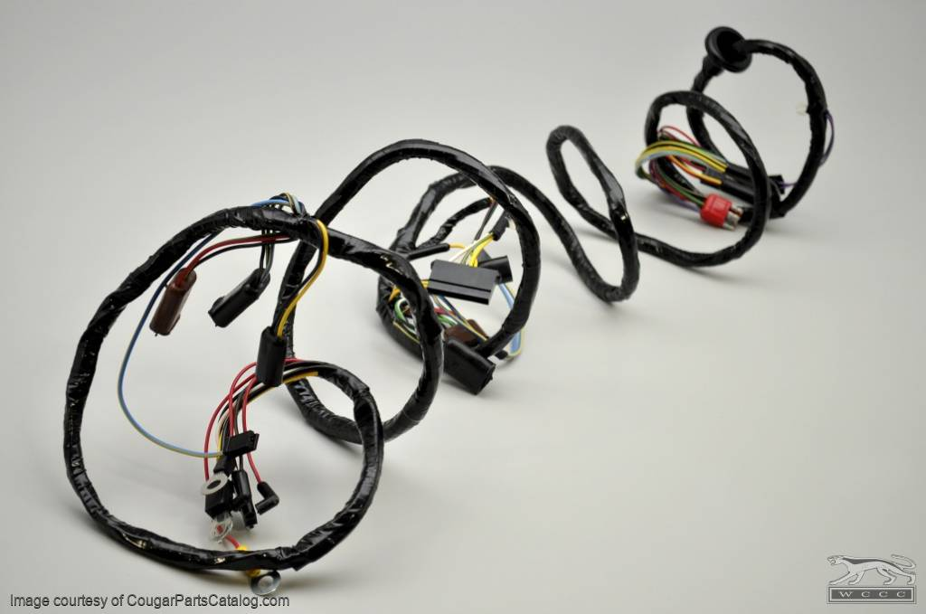 1968 cougar wiring harness  1968  get free image about