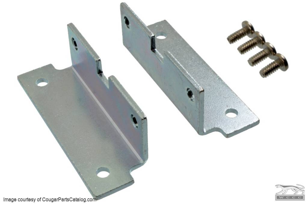 428 CJ - BOSS 302 Valve Cover Bracket Kit - Repro ~ 1969 - 1970 ...