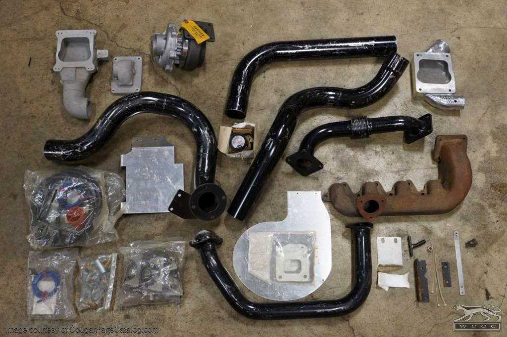 Shelby SpearCo Turbo Kit 351-M - NOS - Ford Pickup Fits: 1970 - 1979