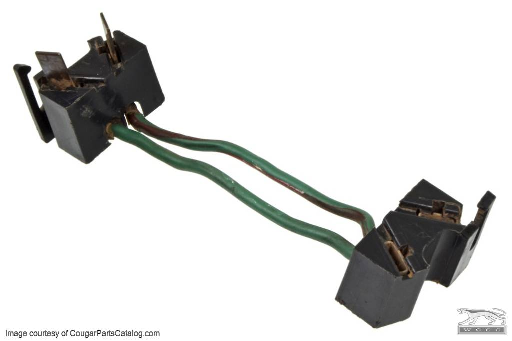 jumper wire - brake switch - used ~ 1967 - 1970 mercury cougar / 1967 -  1970 ford mustang ( 1967 mercury cougar, 1968 mercury cougar, 1969 mercury  cougar,