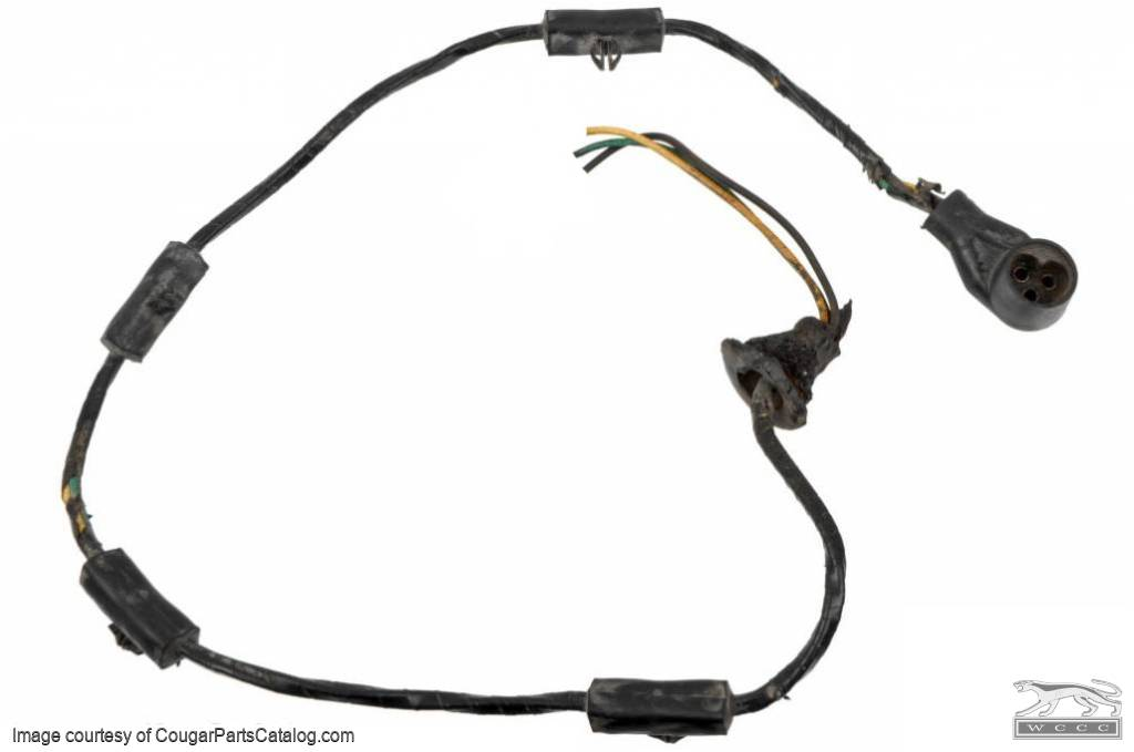 wiring pigtail and plug - low fuel sending unit