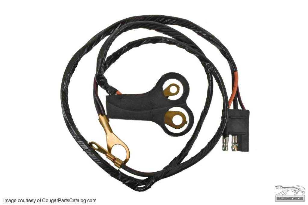 Peachy Alternator Wiring Harness 289 302 Xr7 Economy Repro Fits 1967 1968 Mercury Cougar 1967 1968 Ford Mustang Wiring Cloud Hisonuggs Outletorg