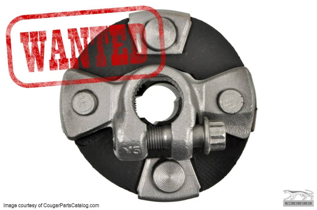 1967-1973 Ford Mustang Rubber Steering Coupler