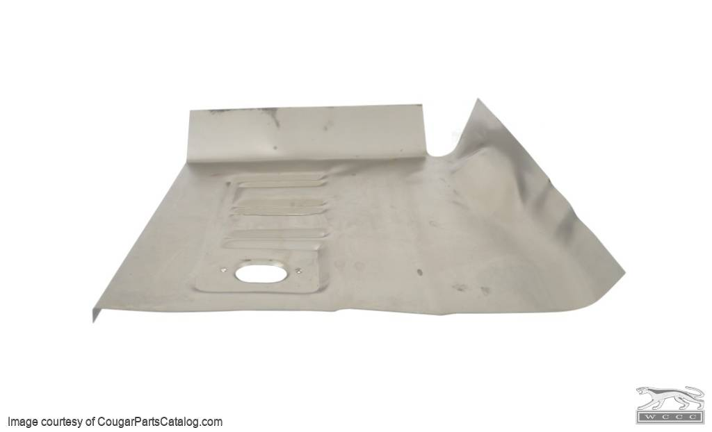 Short floor pan front driver side repro 1967 for 1967 mustang floor pan