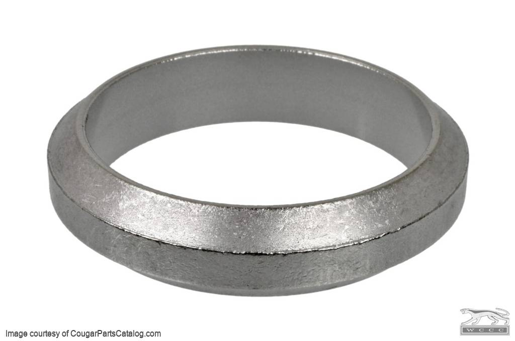 donut exhaust pipe flange gasket each w donut exhaust pipe flange gasket each 289 302 351w 351c 390 427 repro fits 1967 1973 mercury cougar 1965 1973 ford mustang