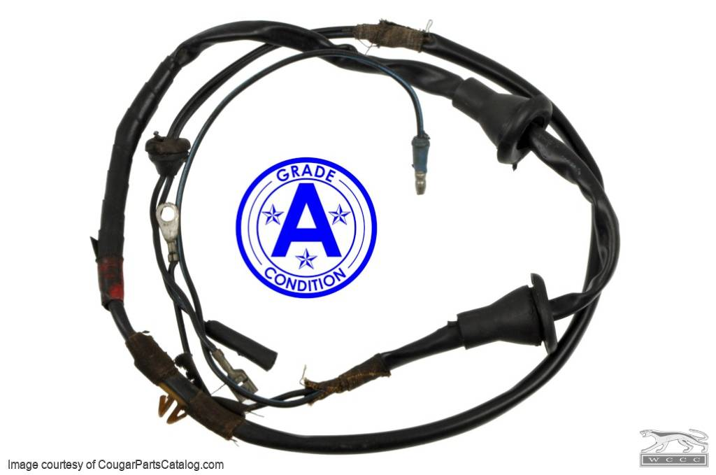 Door Wiring Harness - Standard Model - Grade A - Used ~ 1967 - 1968 on suspension harness, radio harness, pony harness, cable harness, oxygen sensor extension harness, engine harness, maxi-seal harness, amp bypass harness, fall protection harness, nakamichi harness, dog harness, safety harness, electrical harness, pet harness, battery harness, alpine stereo harness, obd0 to obd1 conversion harness,