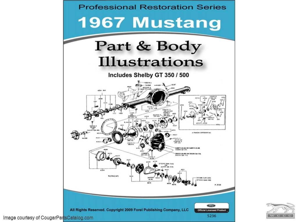 assembly manual parts and body illustrations cd rom repro rh secure cougarpartscatalog com 1967 Mustang Rotisserie 1967 Mustang Restomod