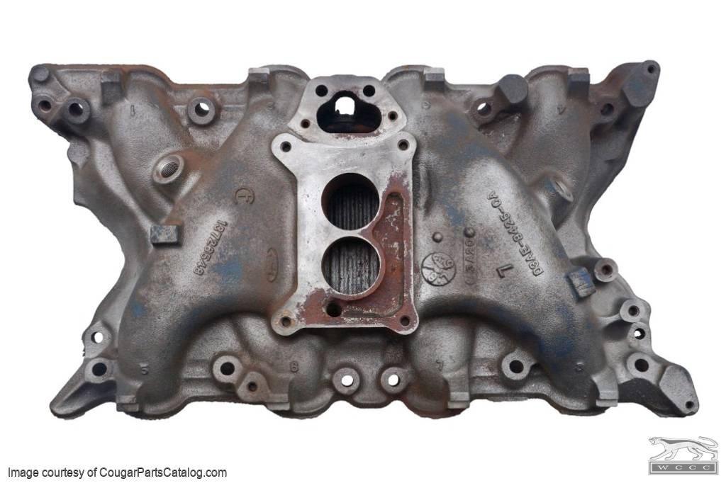 Intake Manifold - 351C-2V - Used Fits: 1973 Mercury Cougar / 1973 Ford  Mustang