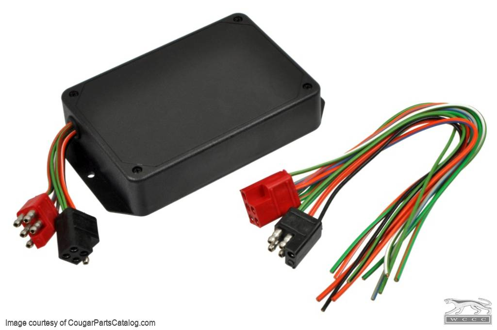 sequential flasher - custom conversion kit - not for the cougar - new ~ any  car with 6 taillights ( 1968 ford mustang, 1969 ford mustang, 1970 ford  mustang,