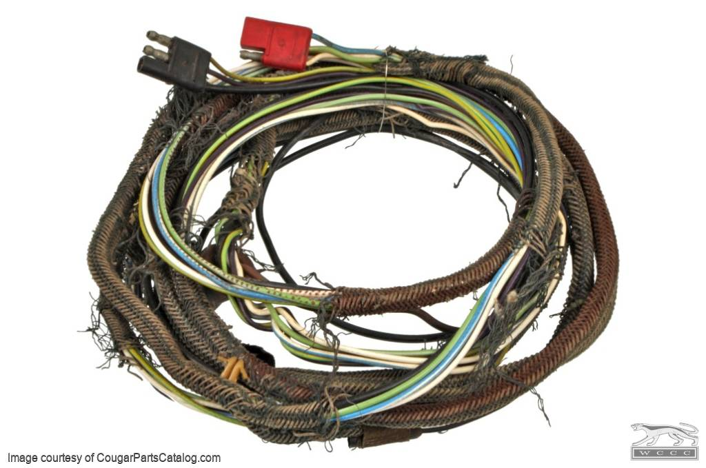 1968 Mercury Cougar Wiring Harness Together With 1969 Ford Mustang
