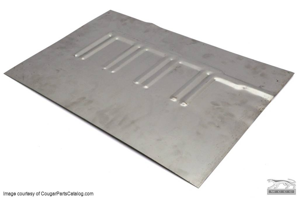 Floor pan patch convertible driver side repro 1969 for 1968 ford mustang floor pans