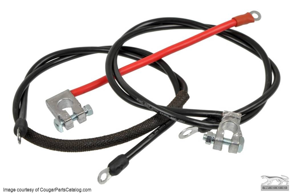 1432667001_o battery cables high draw oem style repro ~ 1968 1969 Auto Wiring Color Code 1950 Mercury at alyssarenee.co