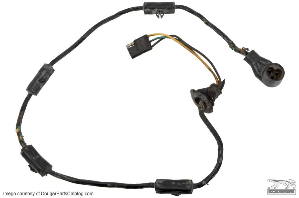 Wiring Harness And Plug - Low Fuel Sending Unit