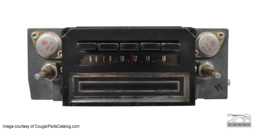 Radio Am 8track Nonfunctional Used 1968 Mercury Cougar Rhsecurecougarpartscatalog: Am Track Radio At Gmaili.net
