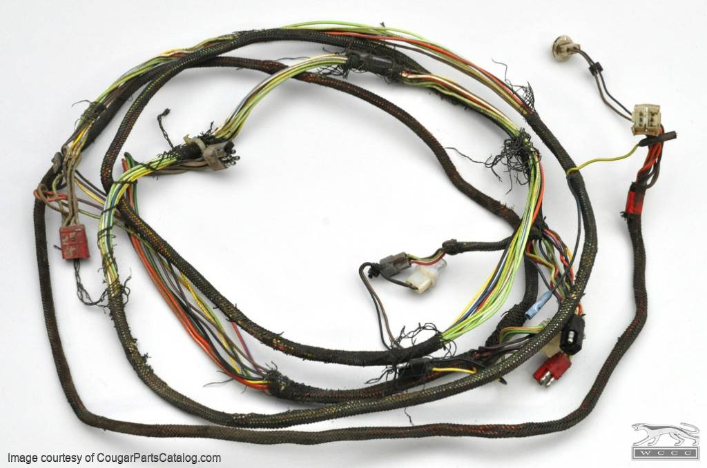 71tailwire_(4) 1028 taillight wiring harness xr7 grade a used ~ 1971 1972 cougar wiring harness at readyjetset.co