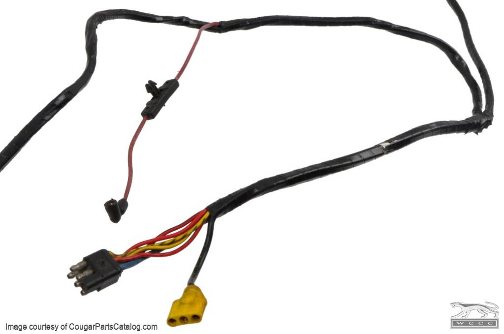 main wiring harness - power window - grade a