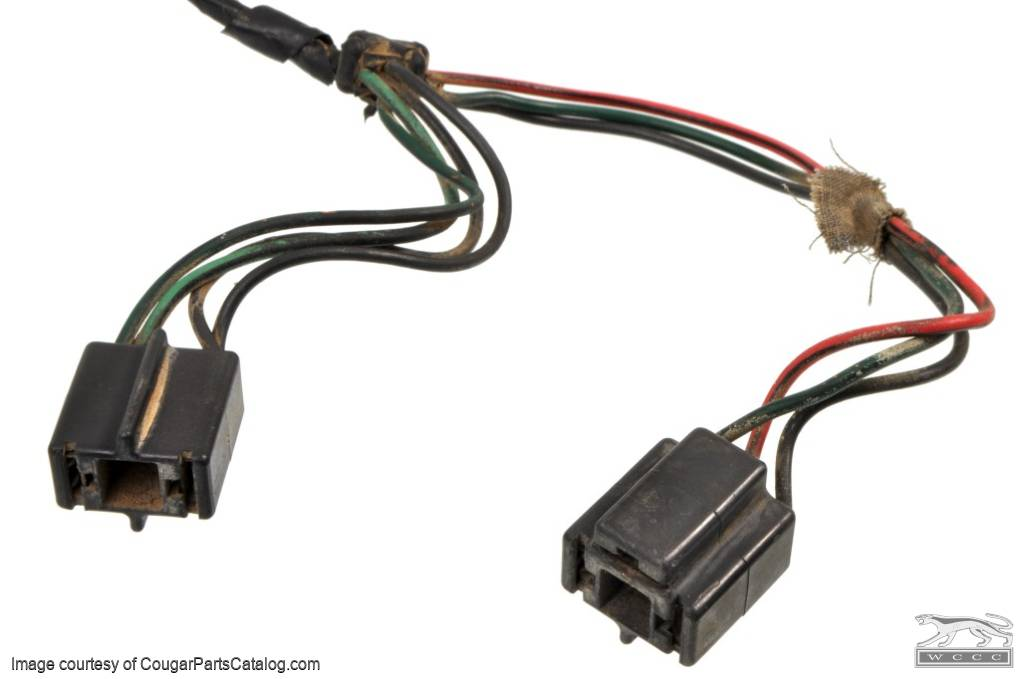 headlight wiring harness each used 1967 1968 mercury 24138 at west coast