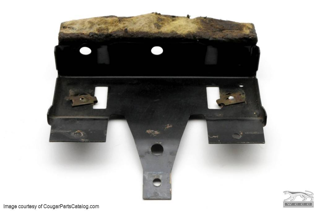 Overhead console front bracket used