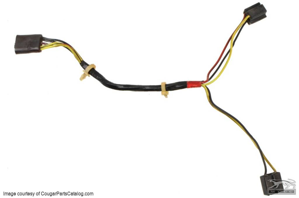 headlight wiring harness each used 1971 1973 mercury 25333 at west coast