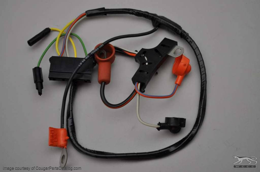 e5j23.1 1028 alternator wiring harness standard economy repro ~ 1971 cougar wiring harness at readyjetset.co
