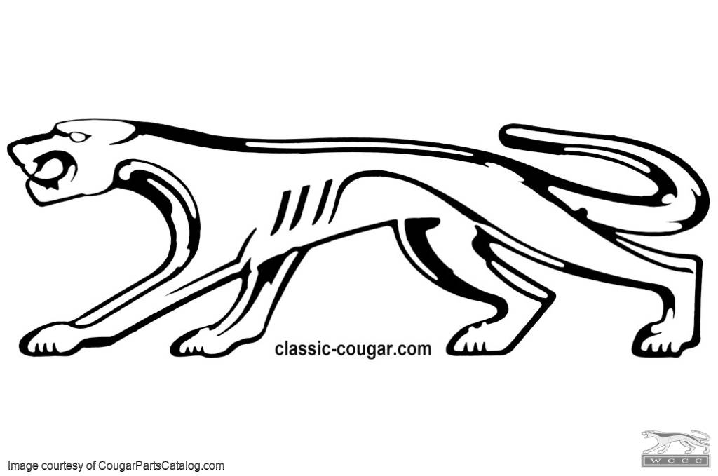 Mercury Cougar Decals