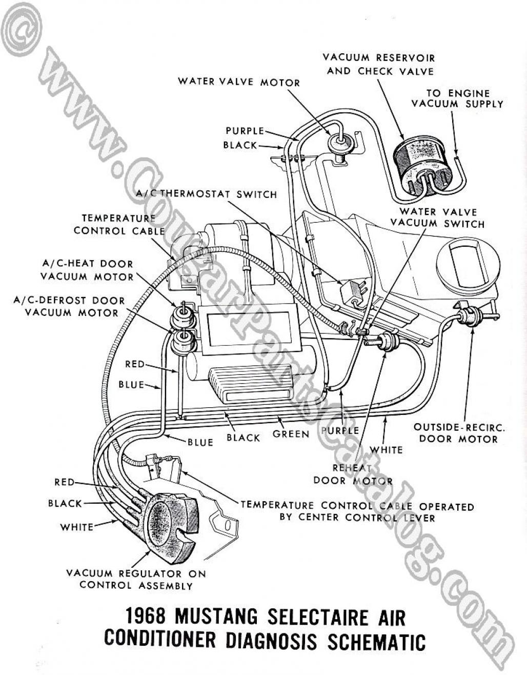 manual - vacuum schematic   cougar headlight schematic