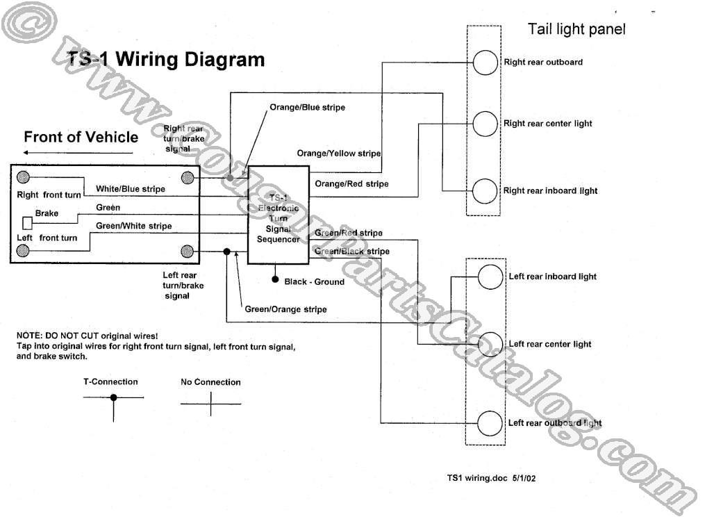 1973 ford mustang turn signal wiring diagram