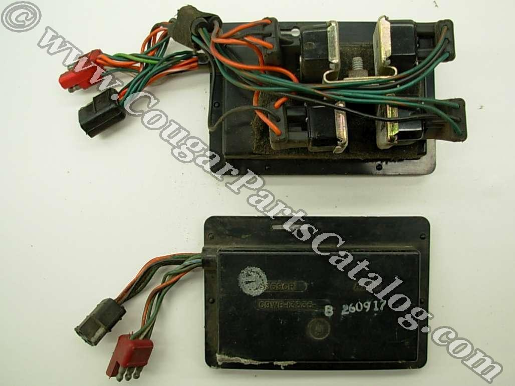 1000876 sequential turn signal box solid state for standard bulbs,1973 Cougar Tail Light Wiring Harness