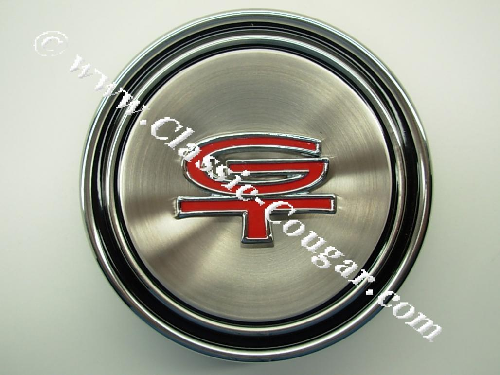 a2f7d073c0d Hubcap - Wheel Cover - Dog Dish Style - GT - Repro ~ 1968 - 1969 ...
