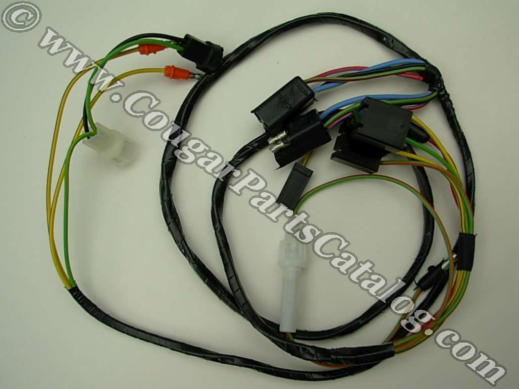 68 Mustang Wire Harness Wiring Library 1968 Tilt Away Column Repro Mercury Cougar