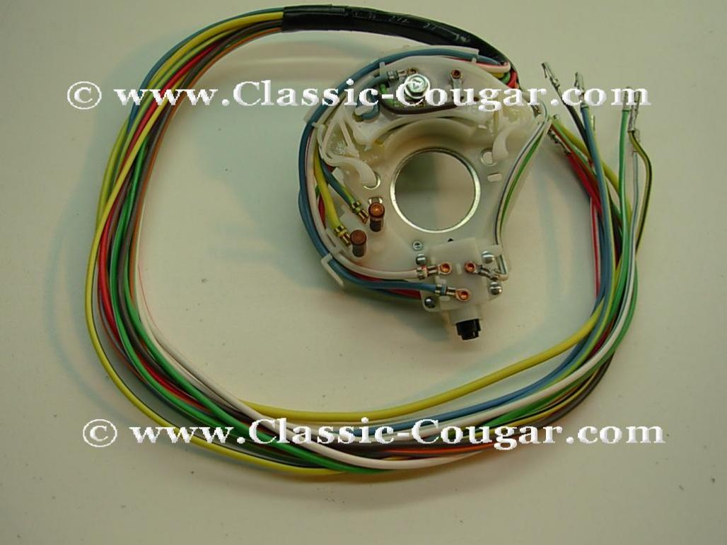 1001748 switch turn signal tilt tilt away column repro ~ 1968 67 cougar turn signal wiring diagram at gsmx.co