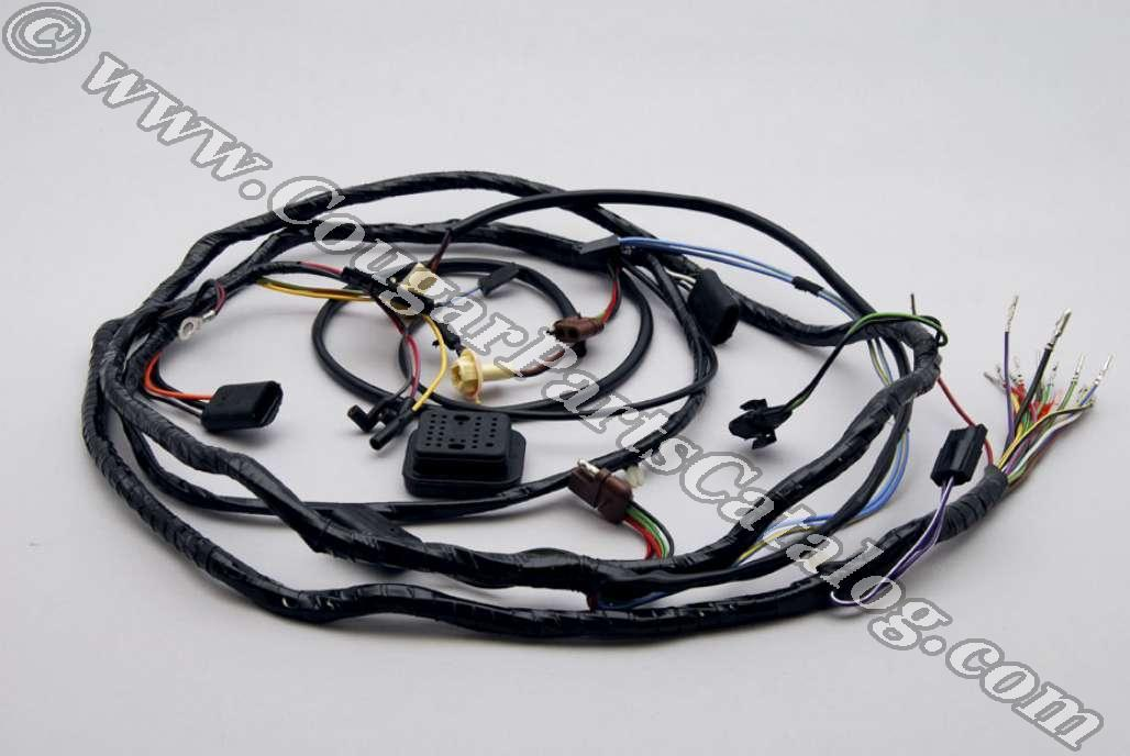 1001803_1 dash panel to headlight wiring harness without tach repro 74 Mustang at panicattacktreatment.co