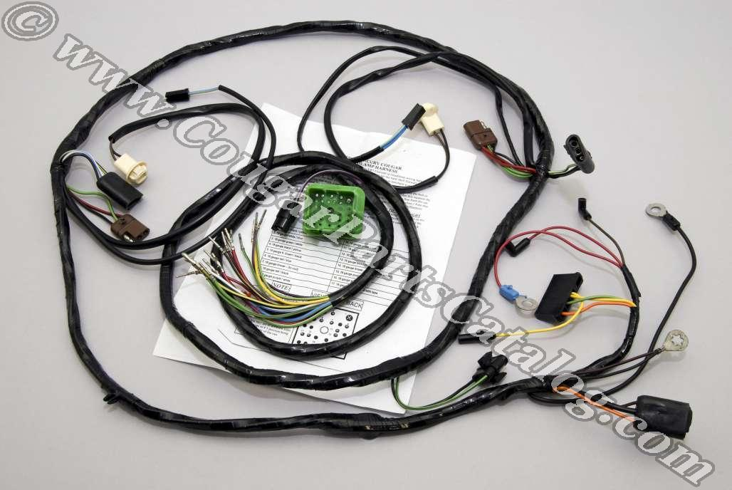 1001804 under hood wiring harness xr7 repro ~ 1969 mercury cougar cougar wiring harness at readyjetset.co