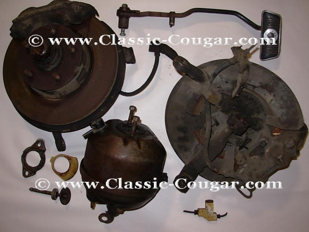 Disc brake conversion power w rotors used 1967 mercury cougar 1967 ford mustang 1967 mercury cougar 1967 ford mustang at west coast classic