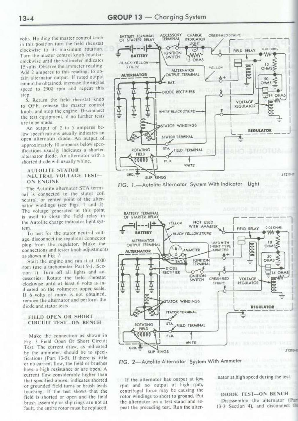 1968 ford mustang electrical wiring diagram