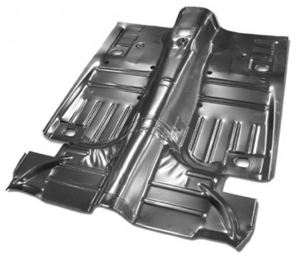 Complete floor pan convertible repro 1969 1973 for 1967 mustang floor pan