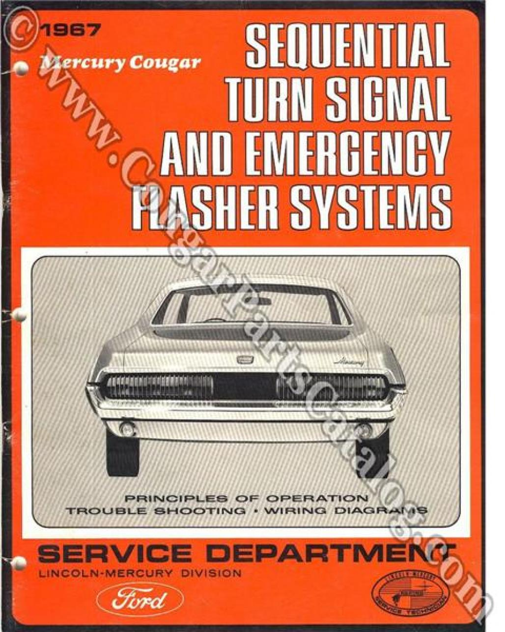 manual - sequential turn signal service of operation - free download ~ 1967  mercury cougar ( 1967 mercury cougar ) at west coast classic cougar :: the