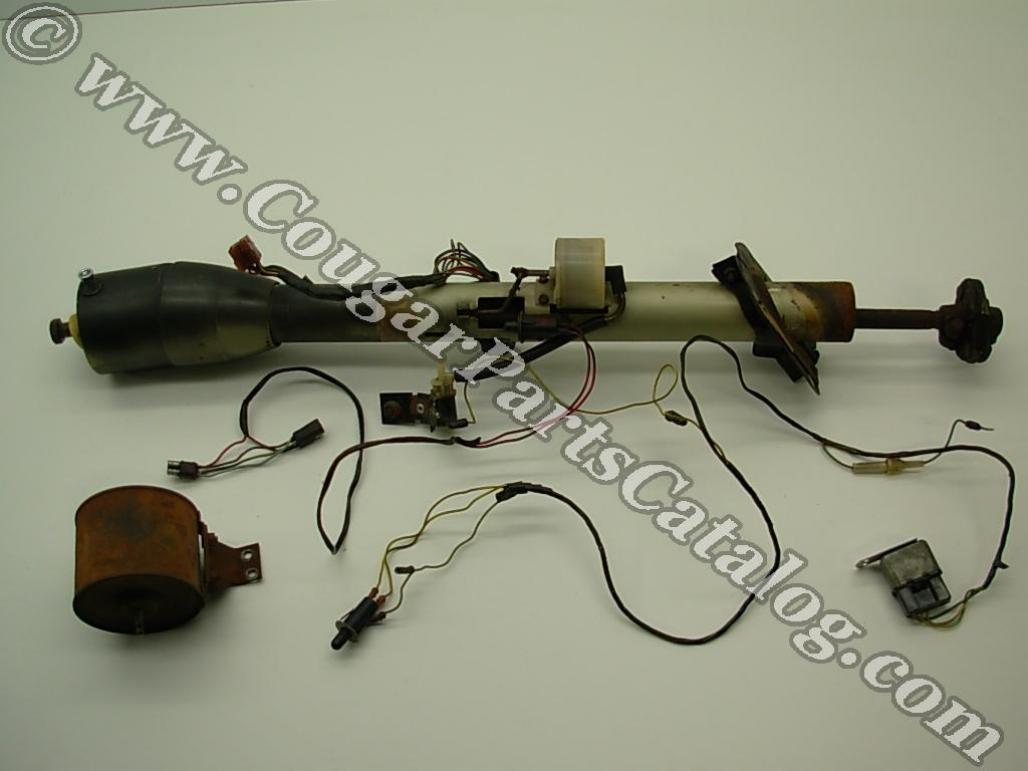 67Tilt steering column tilt tilt away used ~ 1967 mercury cougar 1968 mustang steering column wiring diagram at readyjetset.co