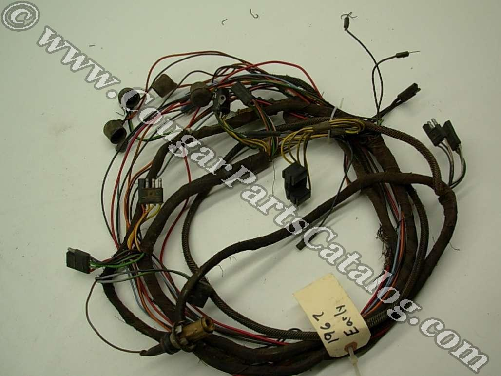 Taillight Wiring Harness - Standard - EARLY - Before 1/3/1967 - Grade B -  Used ~ 1967 Mercury Cougar (1967 Mercury Cougar) at West Coast Classic  Cougar ...