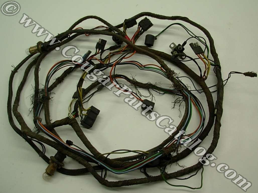 67 Cougar Wiring Harness Diagram Libraries Xr 7 Wire Taillight Standard Xr7 Late After 1 2 1967