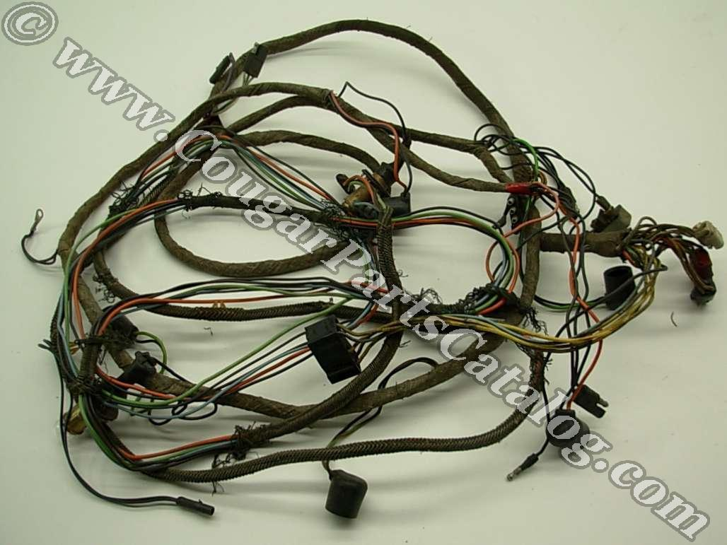 68tailwireS taillight wiring harness standard xr7 grade b used ~ 1968 cougar wiring harness at readyjetset.co