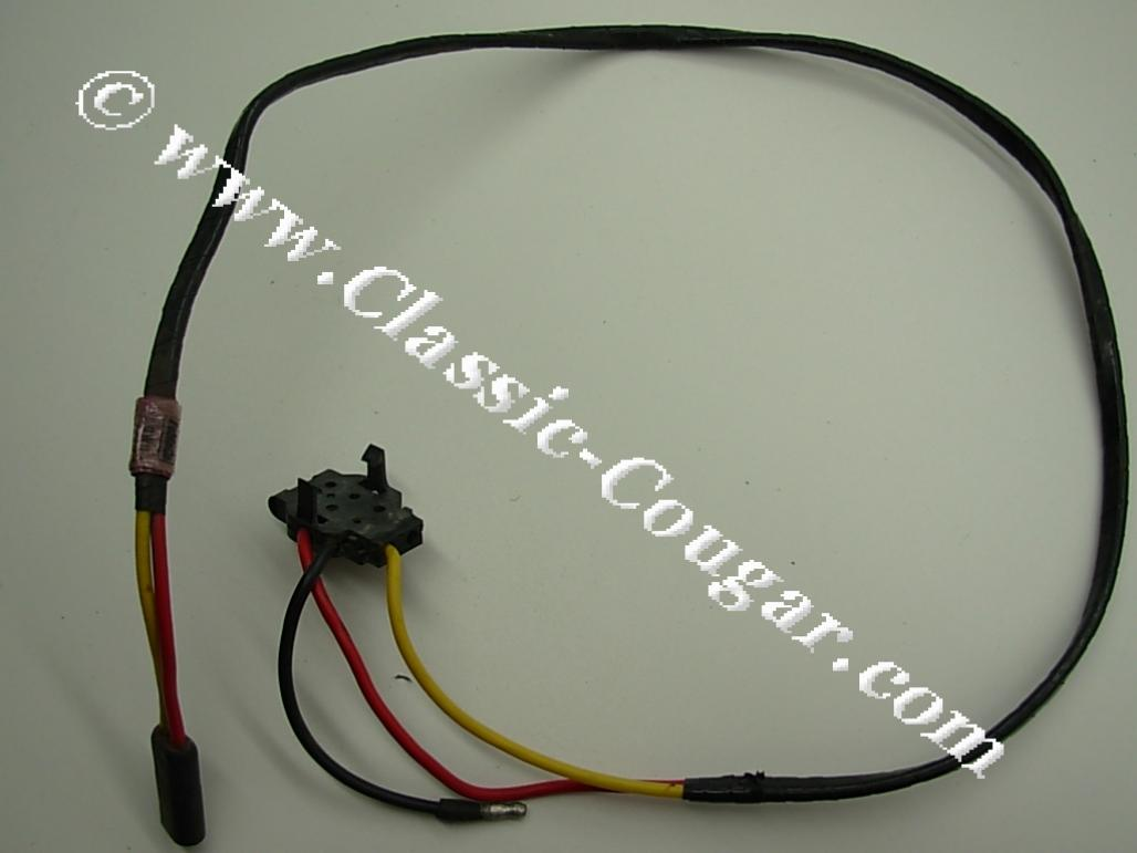 Wiring Convertible Top Power Switch Used 1969 Mercury A Plug Cougar