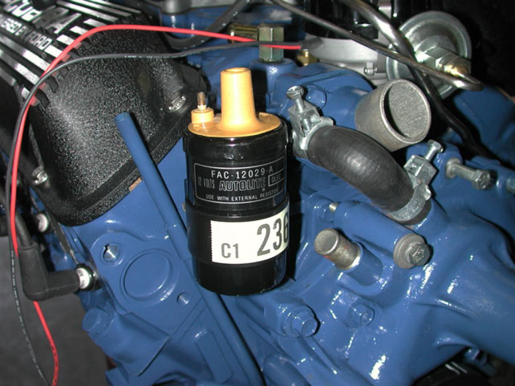 ignition coil - yellow top - repro