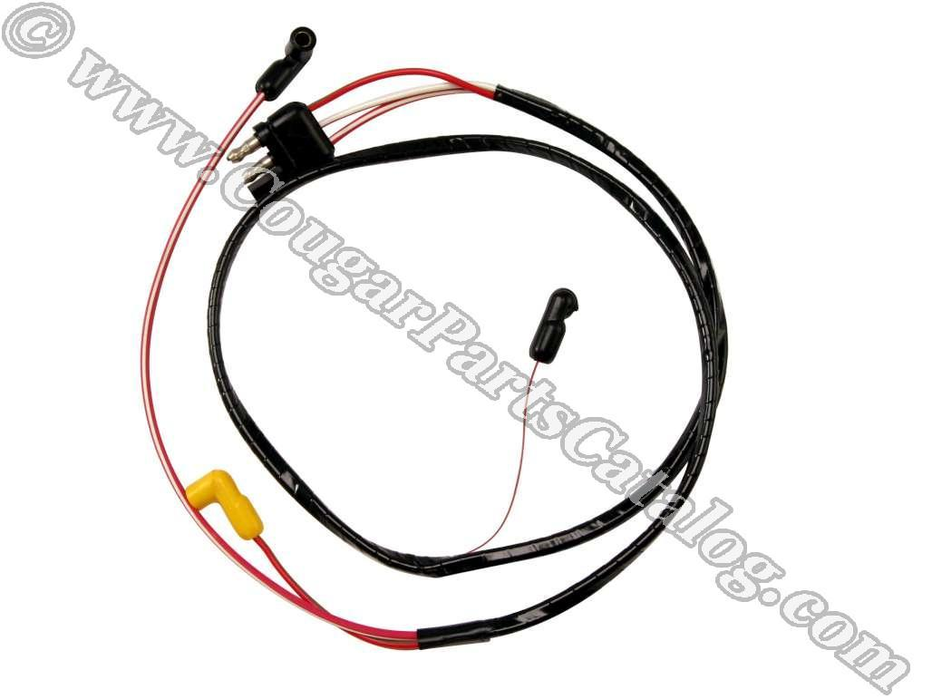 E4J5 wire assembly dash to engine gauge feed 351c repro ~ 1971 on wiring harness for 1971 mustang with 351c engine