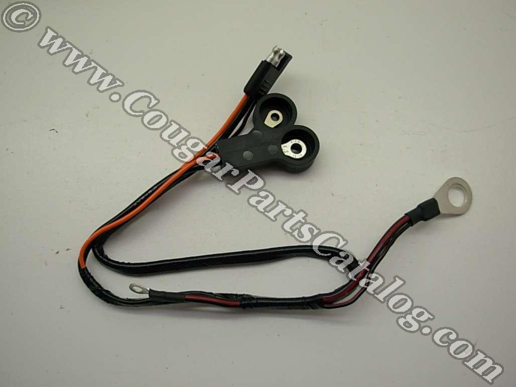 alternator wiring harness 289 302 xr7 economy repro 1967 rh secure cougarpartscatalog com 67 mustang alternator wiring 68 mustang alternator wiring diagram