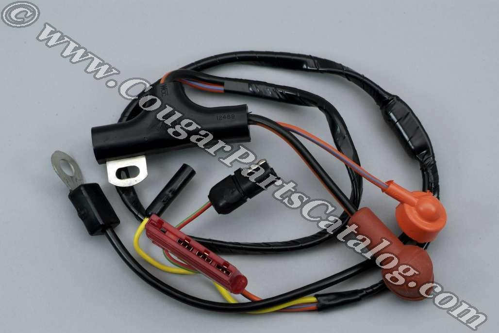e5j20_1 alternator wiring harness economy repro ~ 1972 1973 ford ford alternator wiring harness at aneh.co