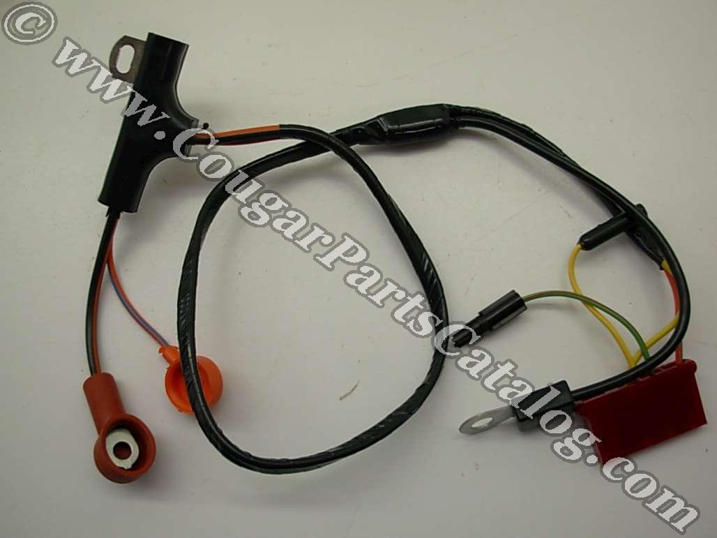 alternator wiring harness xr7 w instruments economy repro 1971 ford
